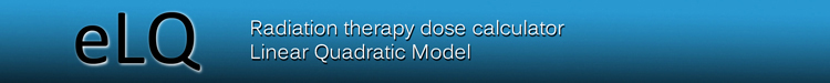 Logo for Radiation Therapy Dose Calculator